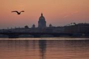 Дамбы в Петербурге частично закрыли из-за угрозы повышения уровня воды