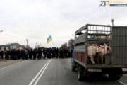 Украинские фермеры объявили о блокировании основных дорог страны
