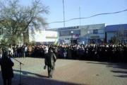 Под Херсоном протестуют против блокадников Крыма
