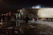 В Стамбуле взорвалась фура с украинскими номерами
