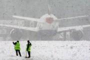 В аэропорту Астаны из-за метели задерживаются рейсы