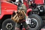 Крупный склад горит в Чите