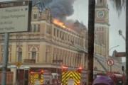 В бразильском Сан-Паулу крупный пожар частично уничтожил уникальный музей