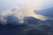 Режим эвакуации из-за вулкана Синдакэ отменен в Японии