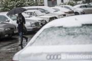 Аэропорт Краснодара остановил работу из-за снегопада
