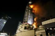 СМИ сообщили о первых жертвах мощного пожара в Дубае