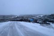 Оползень, сошедший на дорогу в Якутии, может содержать алмазы