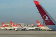 Turkish Airlines отменила 142 рейса из-за снег в Стамбуле