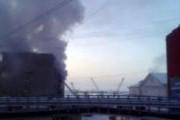 Здание мэрии Дудинки объято огнем: есть погибший