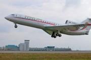 В Самаре Як-42 с пассажирами при посадке выкатился за пределы полосы