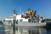 Сегодня ВМФ РФ передан новый спасатель