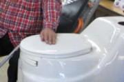 В Калининграде пенсионер украл биотуалет