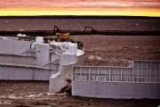 Дамбу в Петербурге частично закрыли из-за угрозы повышения уровня воды