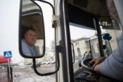 В Калмыкии пассажирский автобус сдуло с дороги в кювет