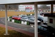 На российско-польской границе фура протаранила КПП