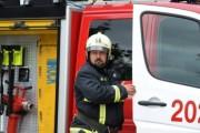 Крупное возгорание произошло на складе в Москве