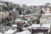 В Сочи из-за сильных снегопадов объявлено штормовое предупреждение