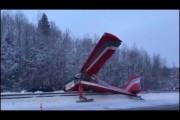 Аварийно севший на Ярославское шоссе самолет сняли на видео