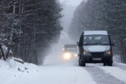 Несколько десятков водителей требуют открыть трассу Оренбург - Орск