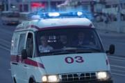 Скорая перевернулась после столкновения с такси в Москве