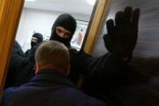 У жены националиста Поткина проходит обыск