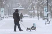 Из-за непогоды на Украине обесточен 81 населенный пункт