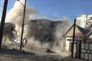 Уничтожение спецназом дома с боевиком в Нальчике