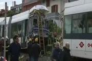 В итальянском Кальяри: столкновение двух поездов метро
