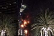 Полиция назвала причину пожара в отеле Дубая 31 декабря