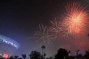 380 человек пострадали в новогоднюю ночь на Филиппинах