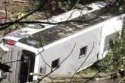 В Индии автобус упал в ущелье, погибли 11 человек, пострадали более 20