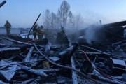 Спасатели завершили разбор завалов сгоревшего дома под Рыбинском
