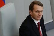 Нарышкин: свыше миллиона украинцев спасаются в РФ от смерти и нищеты