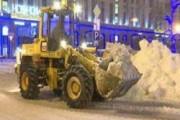 В Москве усиливается снегопад