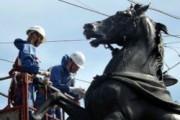 Анатомия слухов: коней пугают переправой