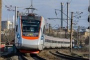 На Украине замерз поезд из Львова в Киев