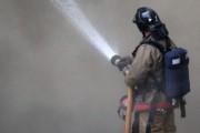 Площадь пожара в центре Москвы составила 350 квадратных метров