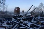 Жильцы сгоревшего под Рыбинском дома получат по 100 тысяч рублей