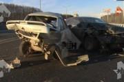 Смертельное ДТП в Москве превратило машины в груду металла