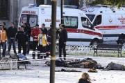 При взрыве в Стамбуле погибли 10 человек