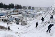В Ливане из-за снега перекрыты дороги к лагерям для беженцев