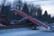 Движение на Ярославском шоссе, где сел самолет, не нарушено