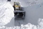 На Транскавказской магистрали сошло несколько лавин