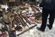 В Калининграде обнаружен арсенал с 70 единицами оружия времен ВОВ