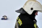 Геологи провалились под лед в Красноярском крае