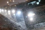 На дорогах Оренбуржья ограничено движение из-за ледяного дождя