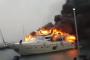 В турецком порту сгорела суперяхта россиянина