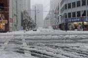 В Японии из-за снежных бурь отменены более 160 авиарейсов