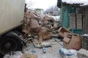 Фура с яйцами протаранила жилой дом в Волгоградской области