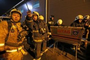 На продовольственном рынке во Владикавказе произошел пожар